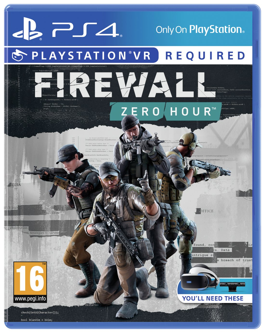 Buy Firewall Zero Hour Ps Vr Game Ps4 Ps4 Games Argos
