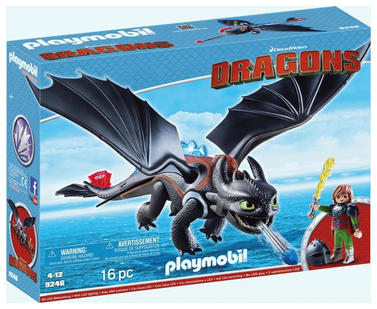 DreamWorks Dragons 9246 Hiccup And Toothless By Playmobil