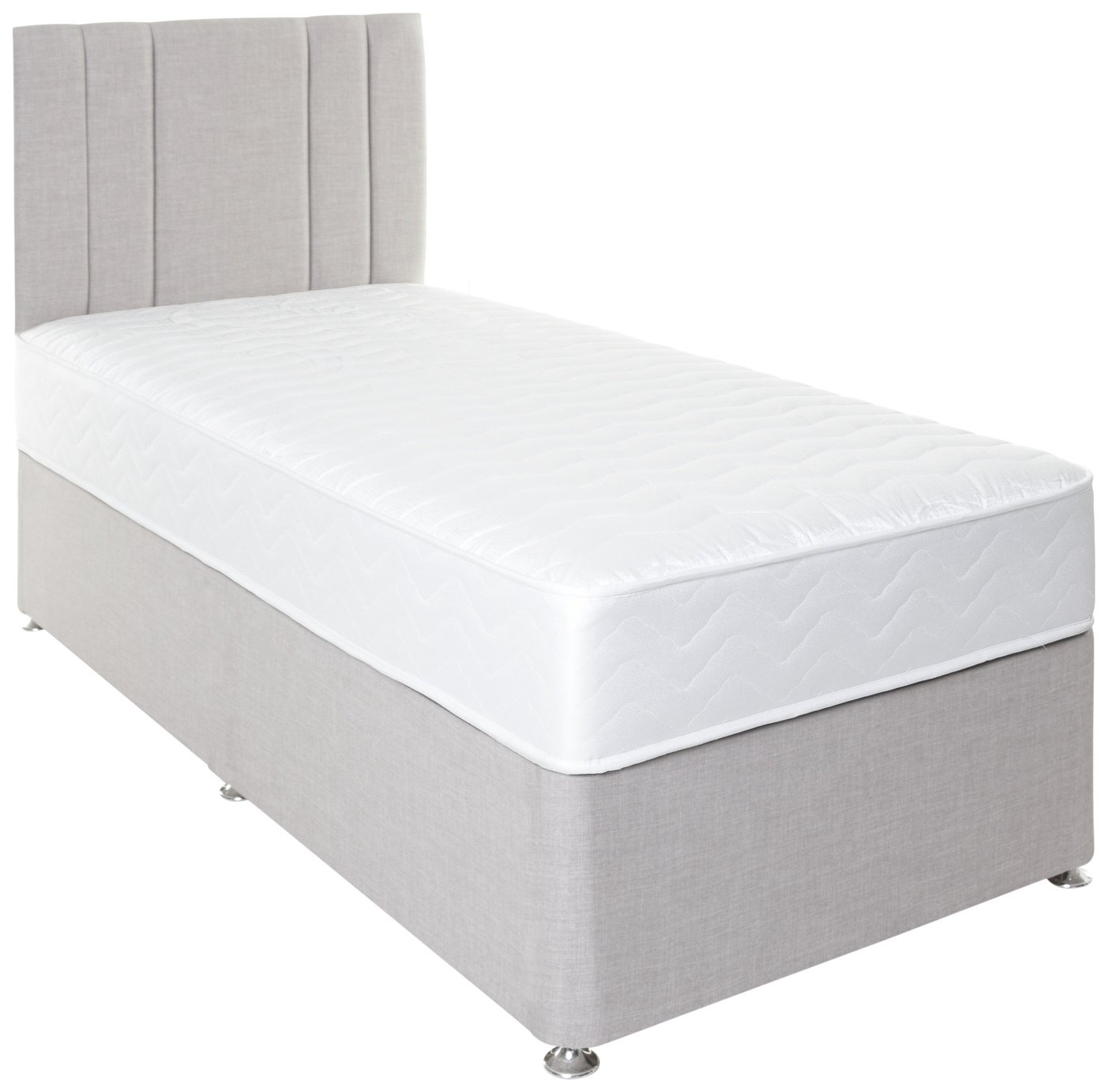 Airsprung Henlow 1200 Pocket Memory Divan Set - Single. at Argos