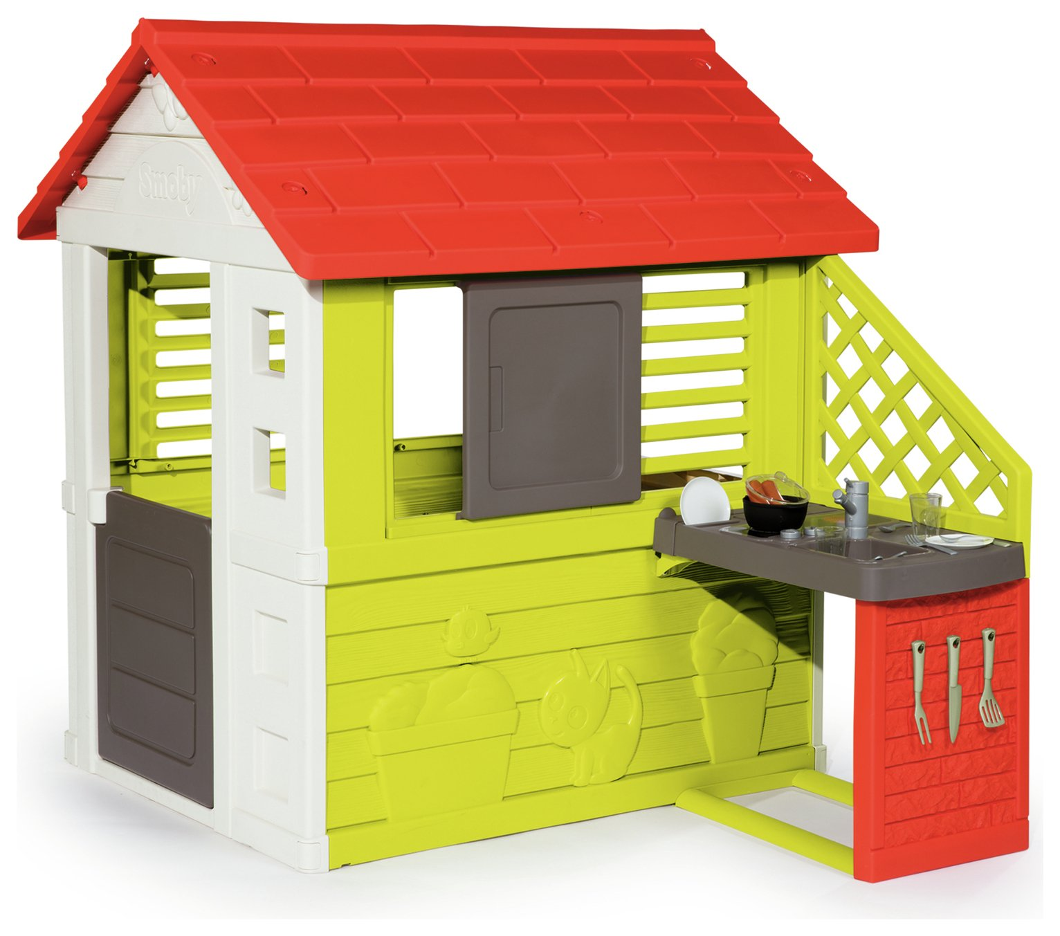 Smoby Nature Playhouse with Kitchen