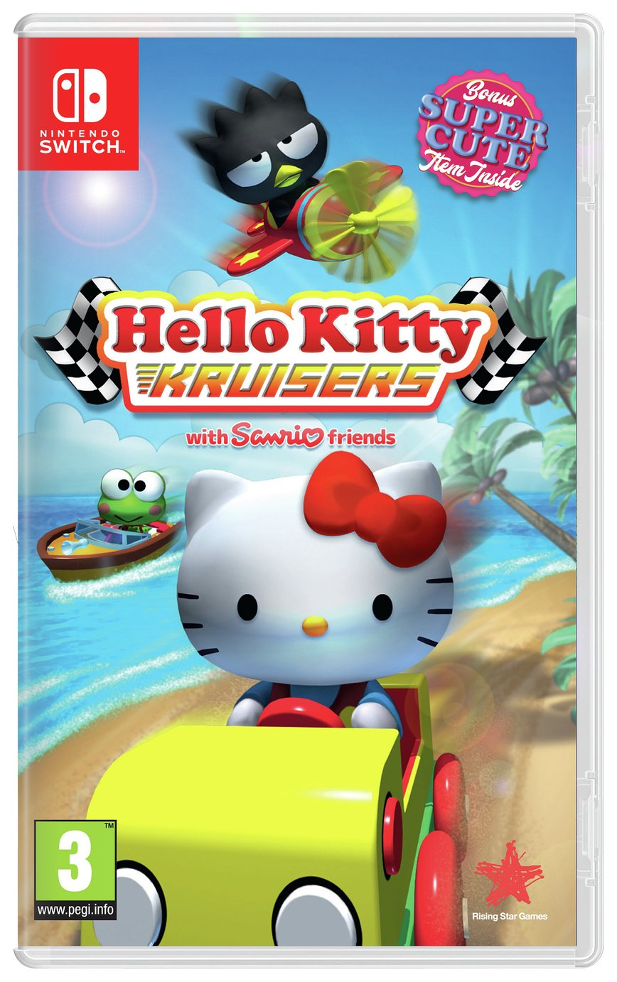 Image of Hello Kitty Kruisers Sticker Edition Nintendo Switch Game