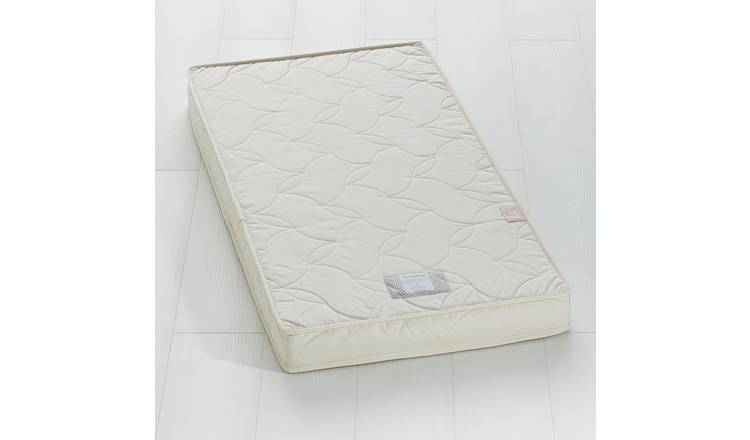 new product d4dab 84e33 Buy The Little Green Sheep Natural Twist Cotbed Mattress | Cot and cot bed  mattresses | Argos