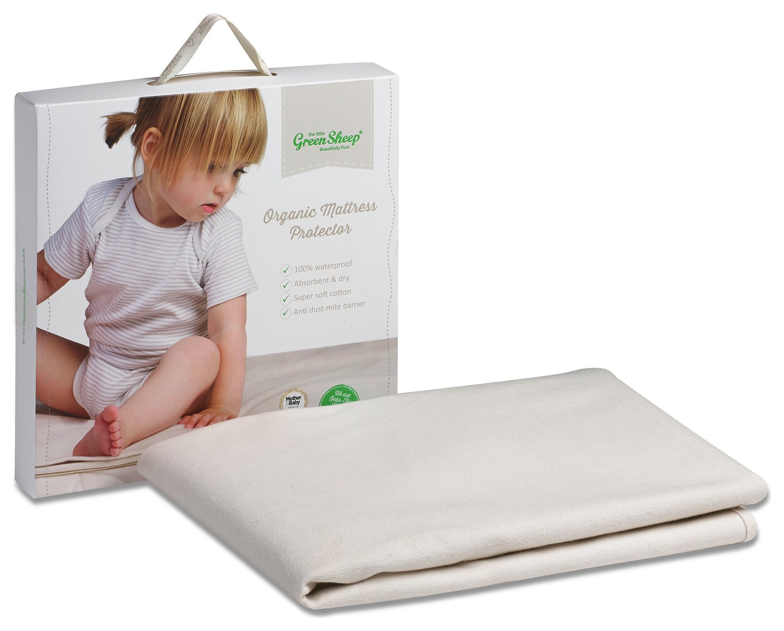 The Little Green Sheep Cot Mattress Protector