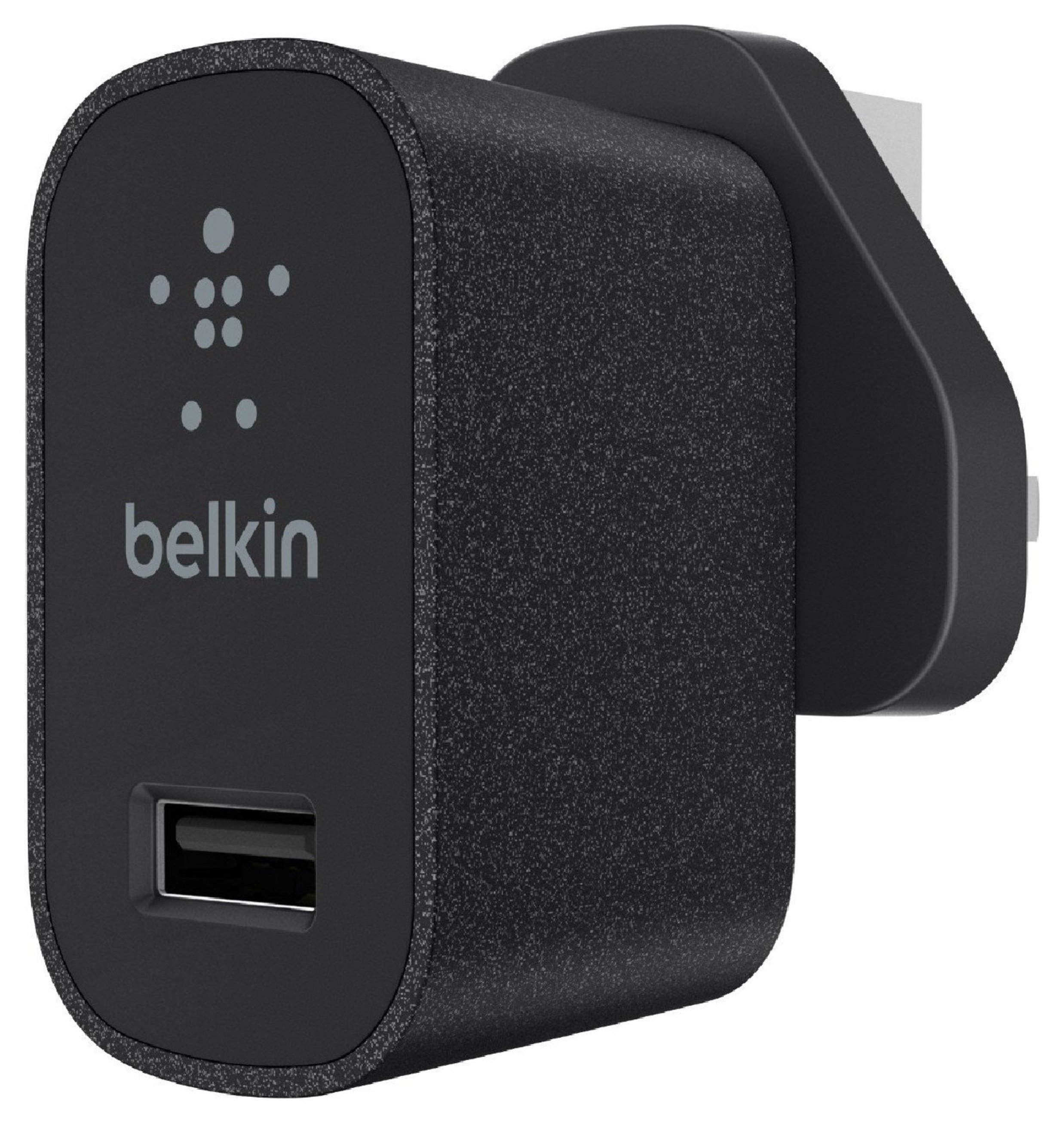 Image of Belkin Mixit Metalic Wall Charger - Black