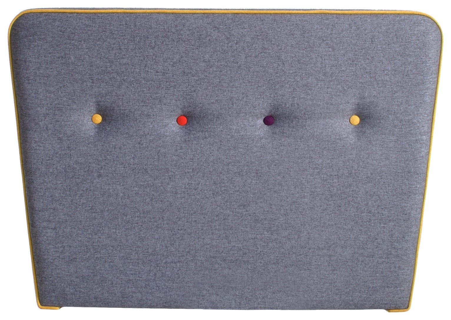 Image of Airsprung Cohen Single Headboard - Grey
