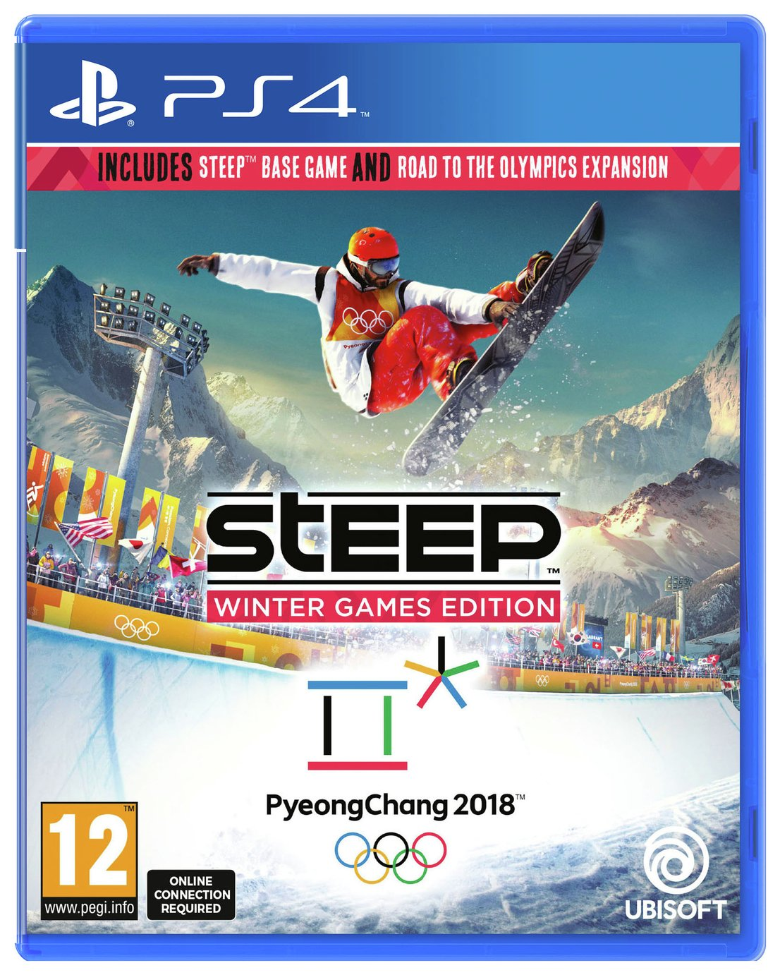Image of Steep Olympic Winter Games PS4 Game