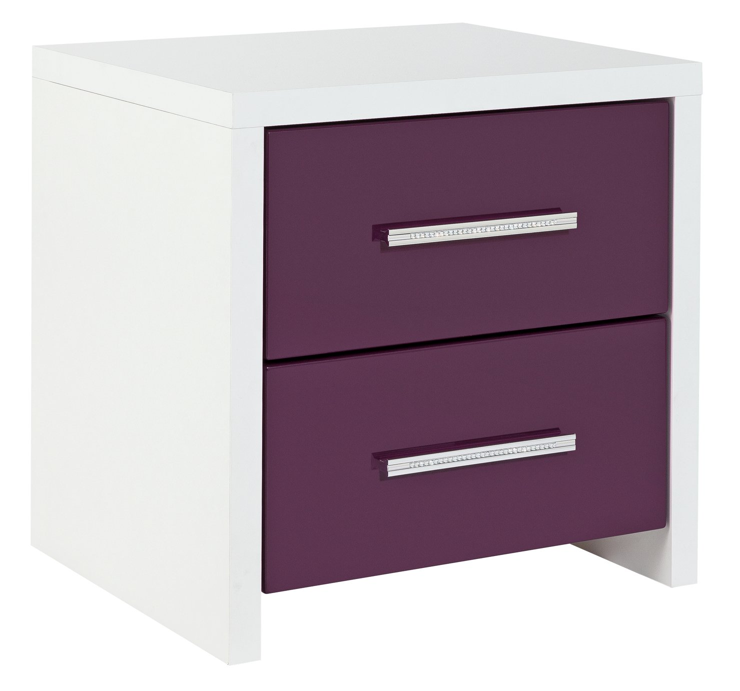 Argos Home Broadway 2 Drw Bedside Chest