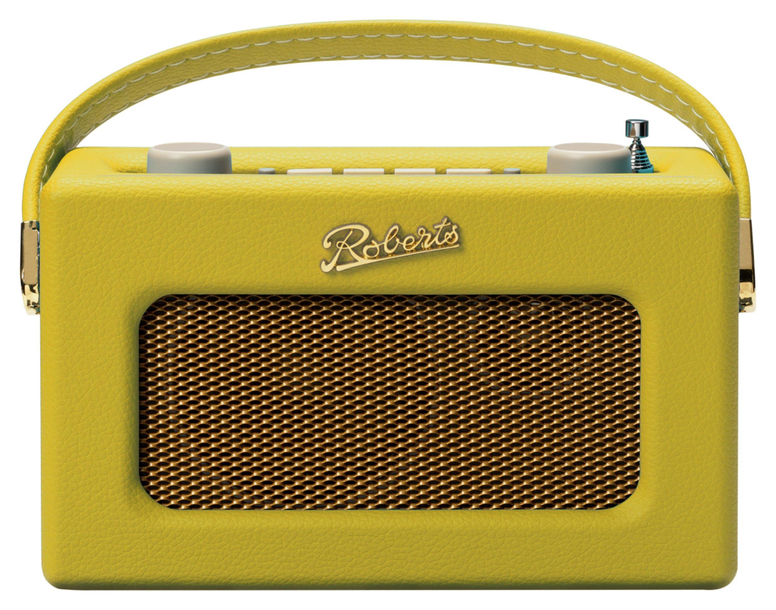 Roberts Revival Uno DAB / DAB+ / FM Radio - Yellow