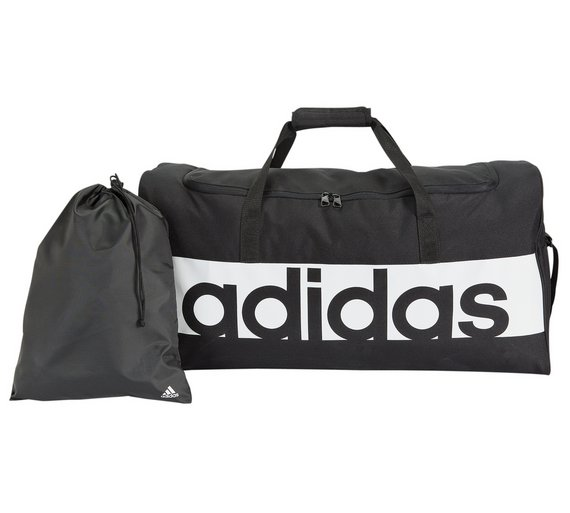 4379d513e2c Buy Adidas Linear Large Holdall and Gym Sack - Black   Gym bags ...