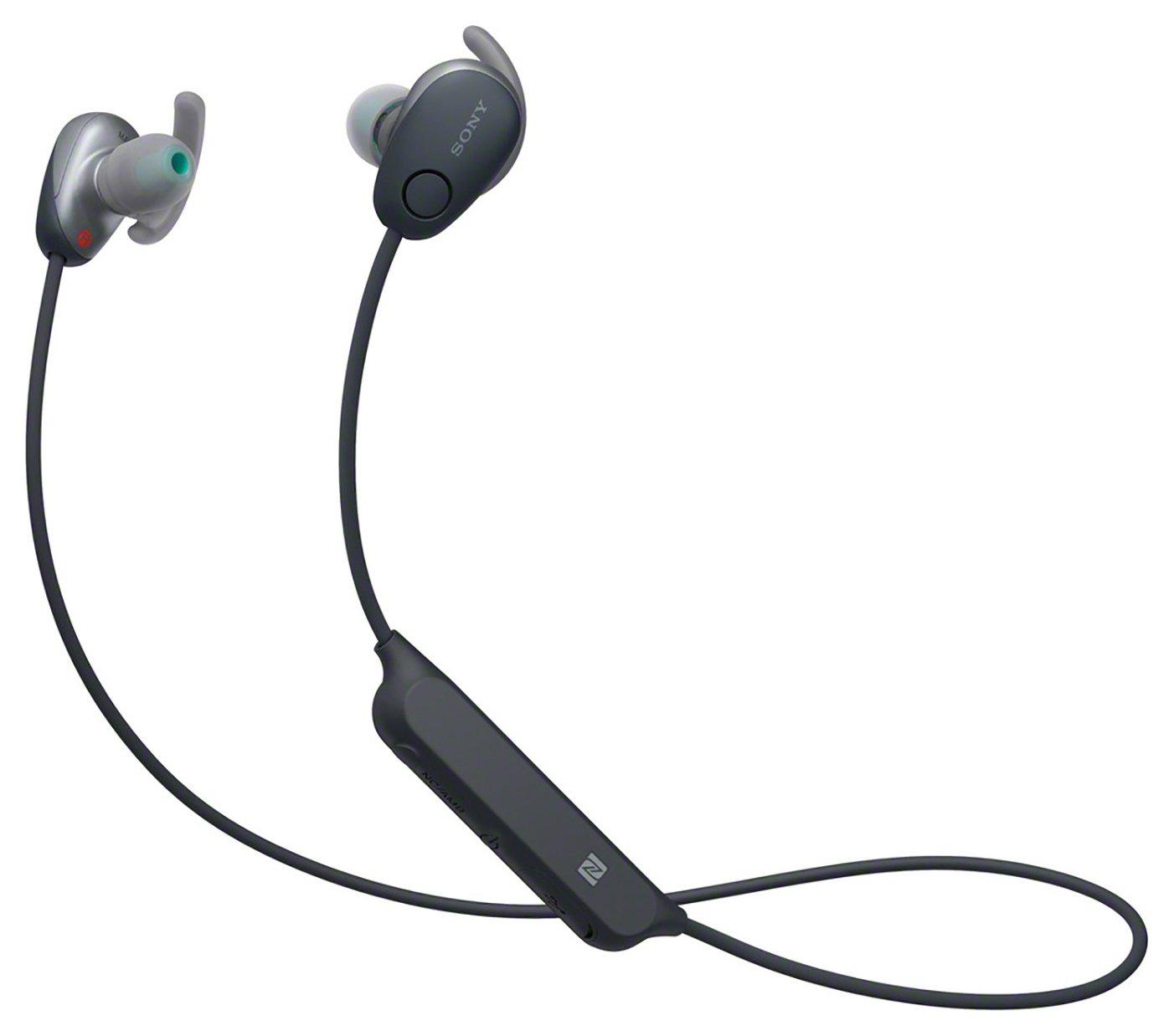 Sony WI-SP600NB In-Ear Wireless Sports NC Headphones - Black