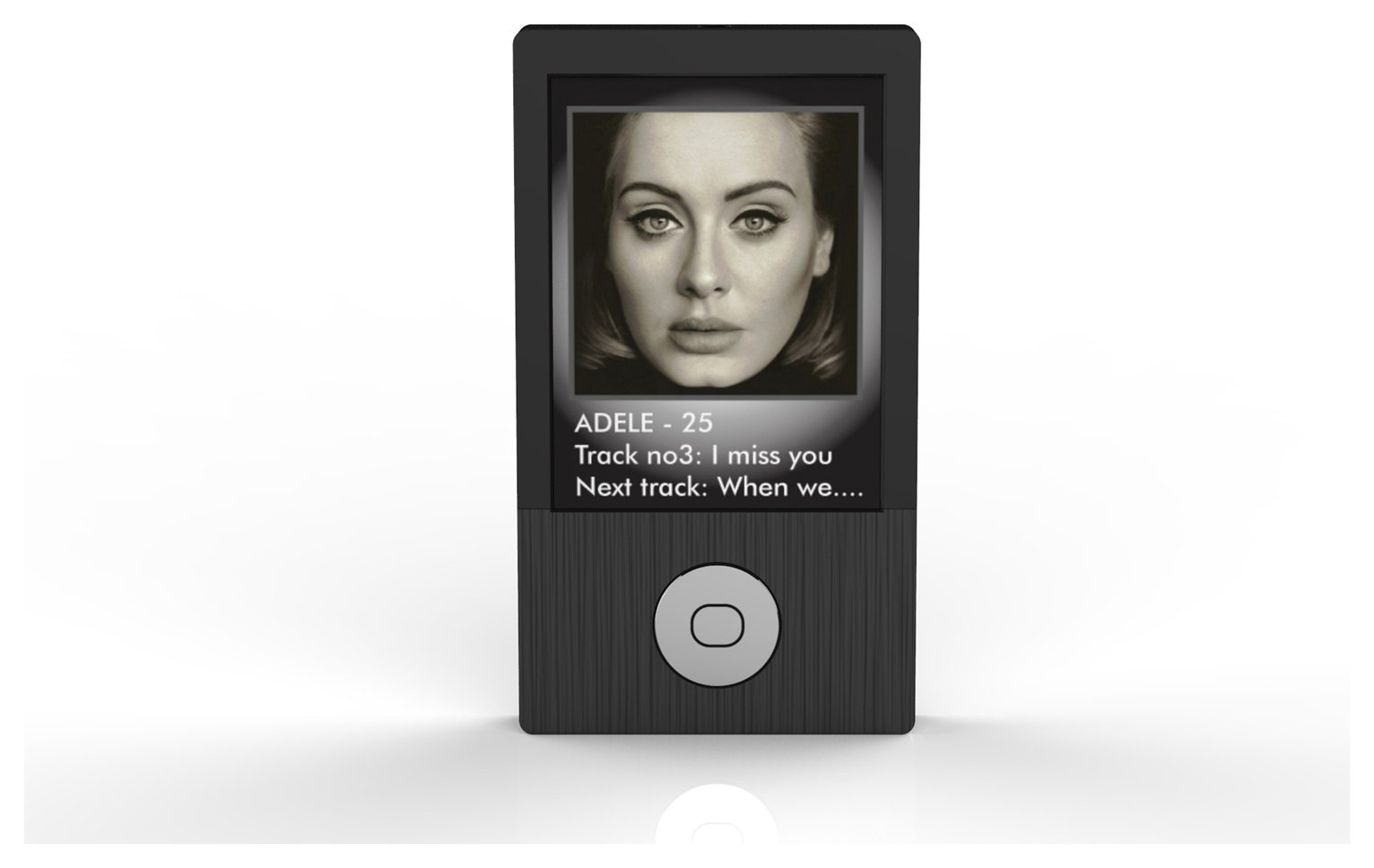 Image of Bush 16GB MP3 Player With Bluetooth- Black
