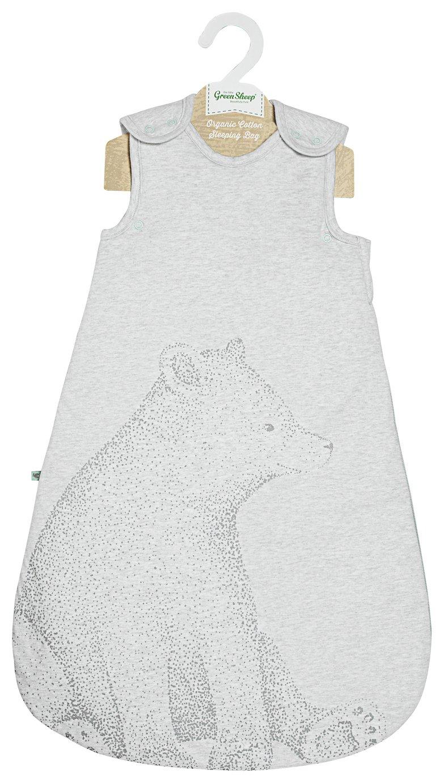 Image of Little Green Sheep 1.0 Tog Sleeping Bag - Bear