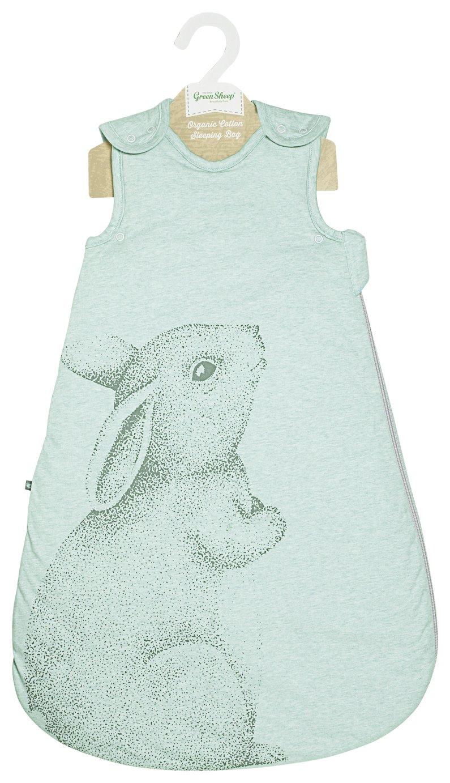 Image of Little Green Sheep 1.0 Tog Sleeping Bag - Rabbit