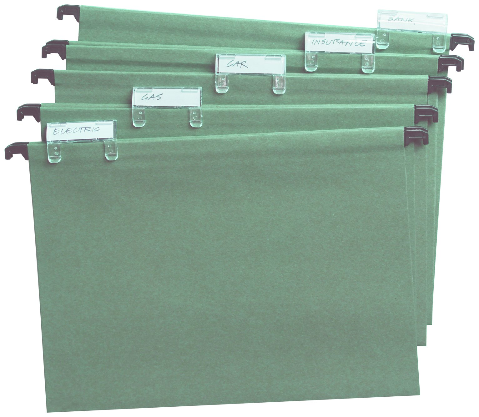 Image of Cathedral Products Pack of 20 Foolscap Suspension Files