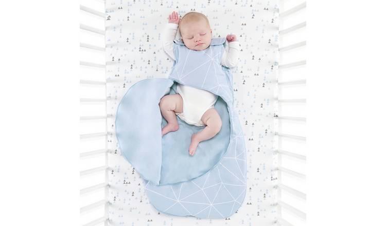 premium selection 6d934 1a7de Buy SnuzPouch 1.0 Tog Sleeping Bag - Geo Breeze | Baby sleeping bags | Argos