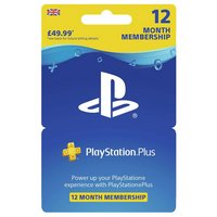 Playstation Plus: 12 Month Membership (PSN)
