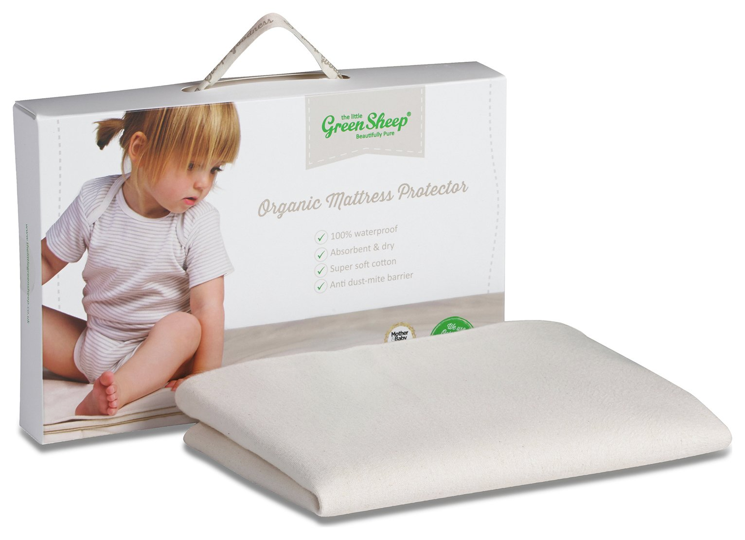 The Little Green Sheep Mattress Protector