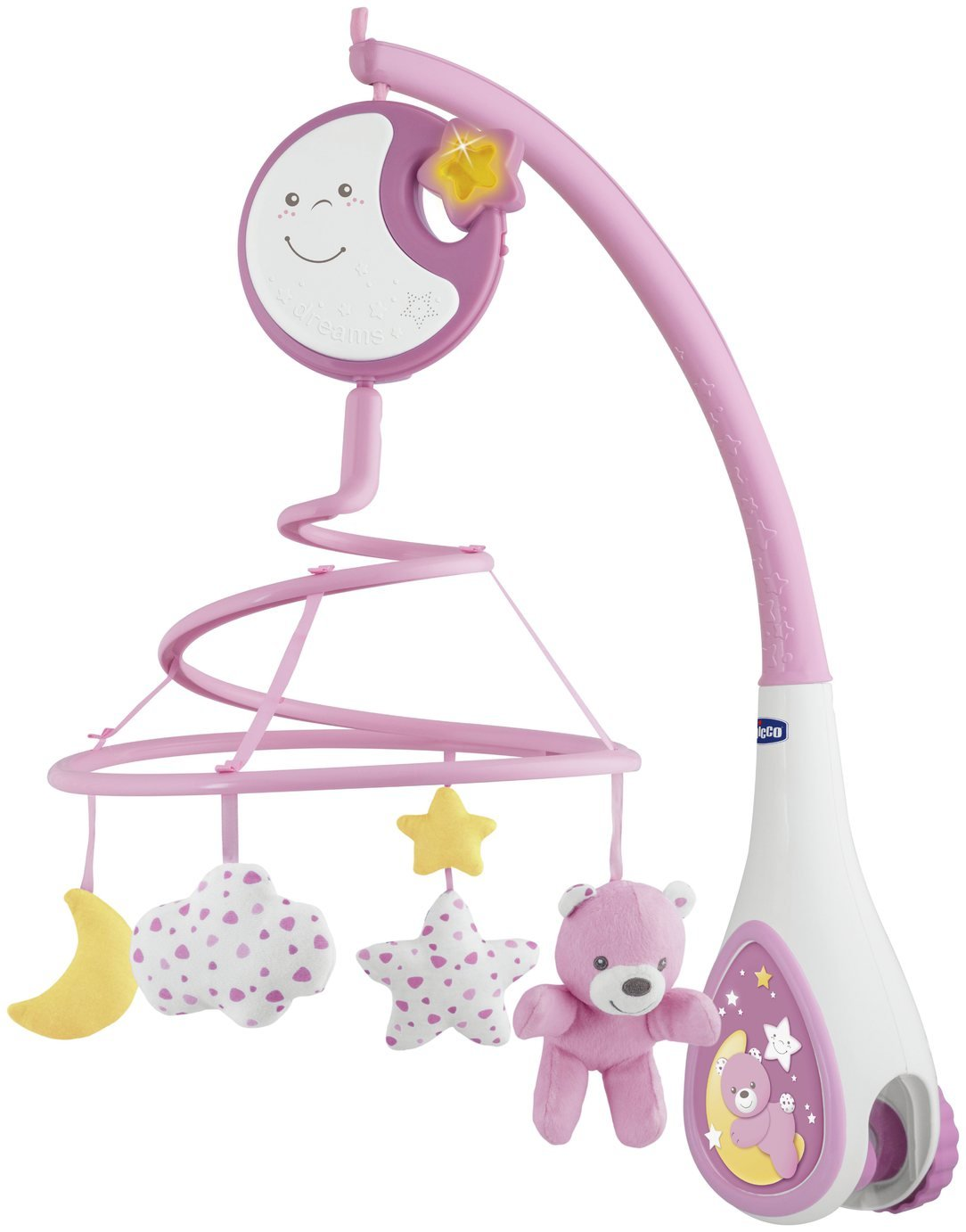 'Chicco Next2 Dreams Cot Mobile - Pink