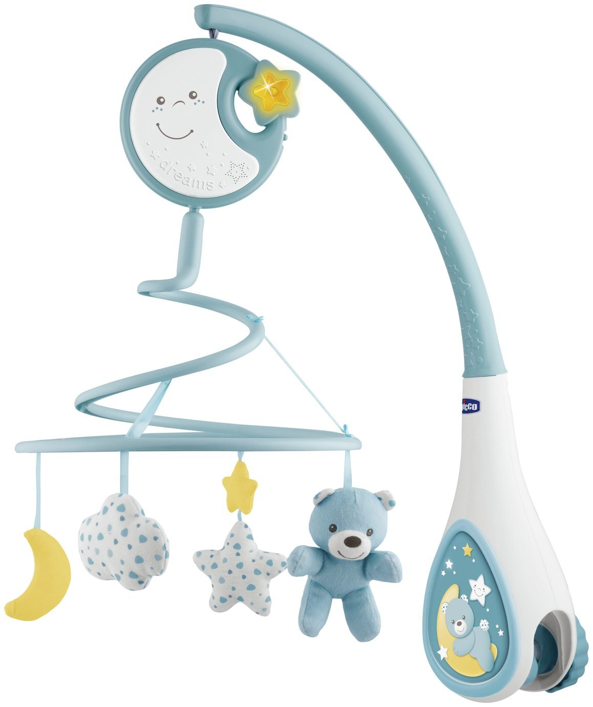 'Chicco Next2 Dreams Cot Mobile - Blue