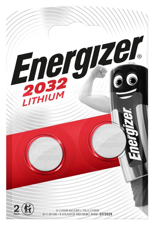 Energizer CR2032 Batteries - 2 Pack