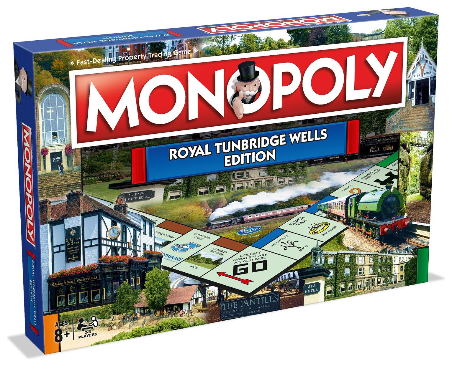 Tunbridge Wells Monopoly Board Game