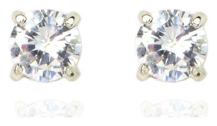 Anne Klein Gold Colour Crystal Stud Earrings