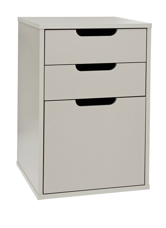 Argos Home 3 Drawer Filing Cabinet - Grey