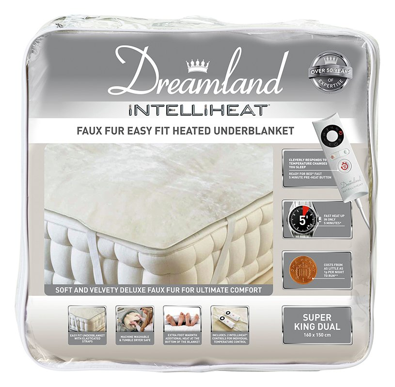 Dreamland Intelliheat Dual Control Electric Blanket - S.King