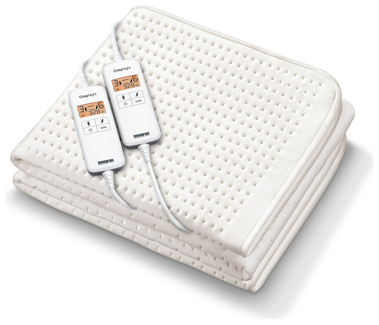 Monogram Smart Electric Blanket - Double