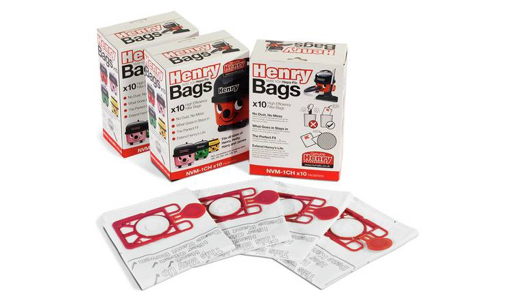 Henry Genuine Dust Bags - Pack of 30