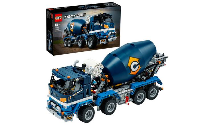 LEGO Technic Concrete Mixer Truck Toy Construction Set 42112