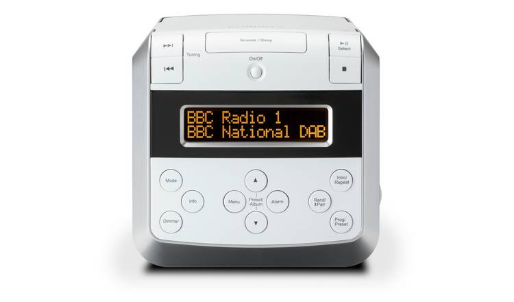 Roberts Sound48 DAB+ Bluetooth Radio - White