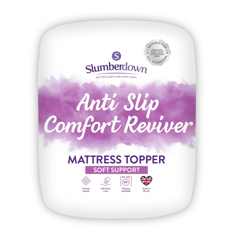 Slumberdown Anti Slip Comfort Mattress Topper - Double