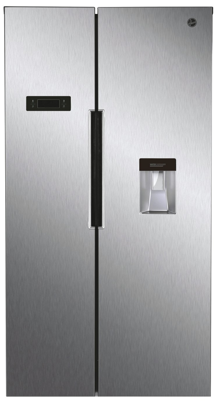 Hoover HHSBSO6174XWDK American Fridge Freezer - Silver