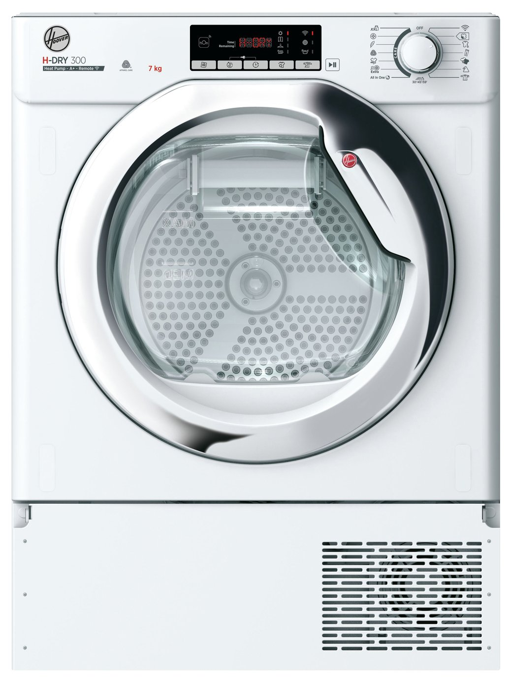 Hoover BATDH7A1TCE Integrated Heat Pump Tumble Dryer - White