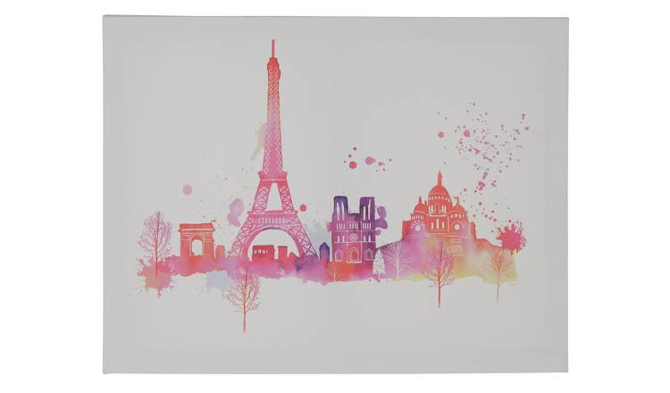 The Art Group Summer Thornton Paris Skyline Canvas Wall Art