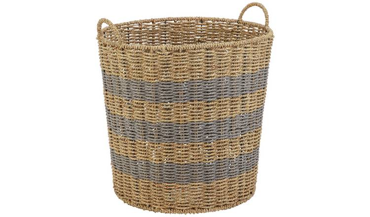 Argos Home Seagrass Basket Large