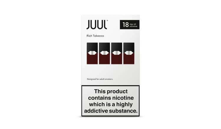 Juul Rich Tobacco PODS 18mg