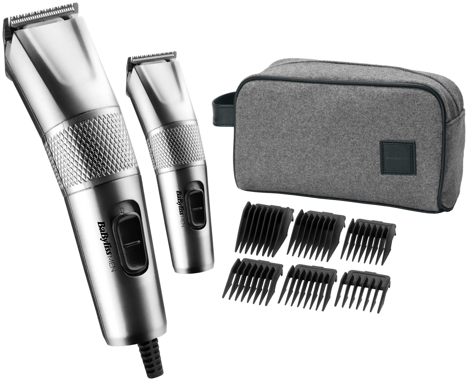 BaByliss for Men Steel Edition Hair Clipper Set 7755GU