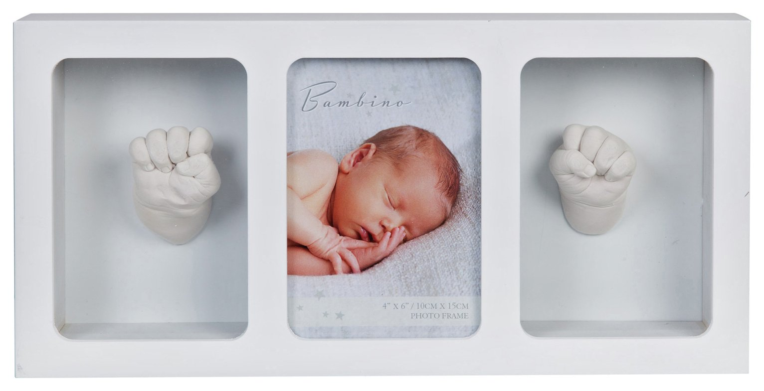 Bambino Baby 3 Window Frame & Hand Mould