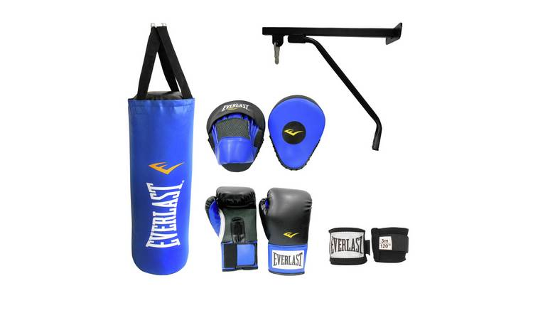 Everlast Punch Bag Set 3ft - Black and Blue