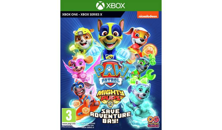 Paw Patrol Mighty Pups Save Adventure Bay Xbox One Pre-Order