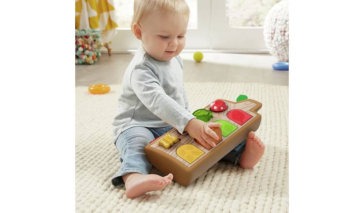 Fisher-Price Hide & Peek Pop-Up Activity Toy