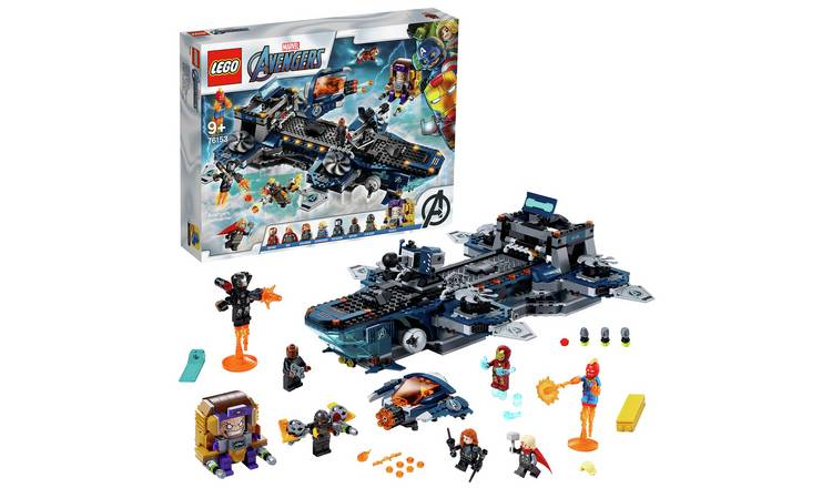 LEGO Marvel Avengers Helicarrier Toy- 76153