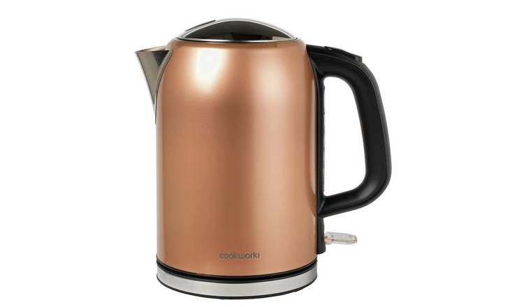 Buy Cookworks Bullet Kettle Copper Kettles Argos