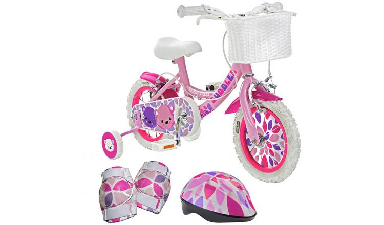 Pedal Pals Cuddles 12 inch Kids Bike, Helmet and Knee Pads