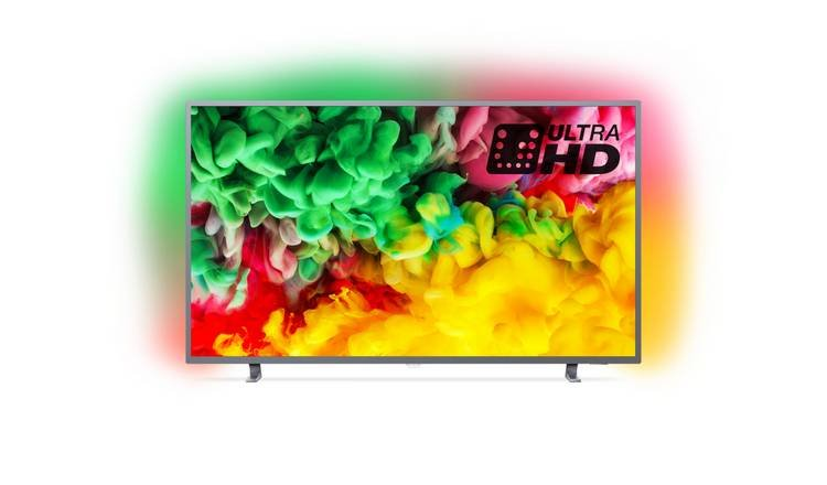Philips Philips 65PUS6703 65 Inch Smart UHD Ambilight TV with HDR