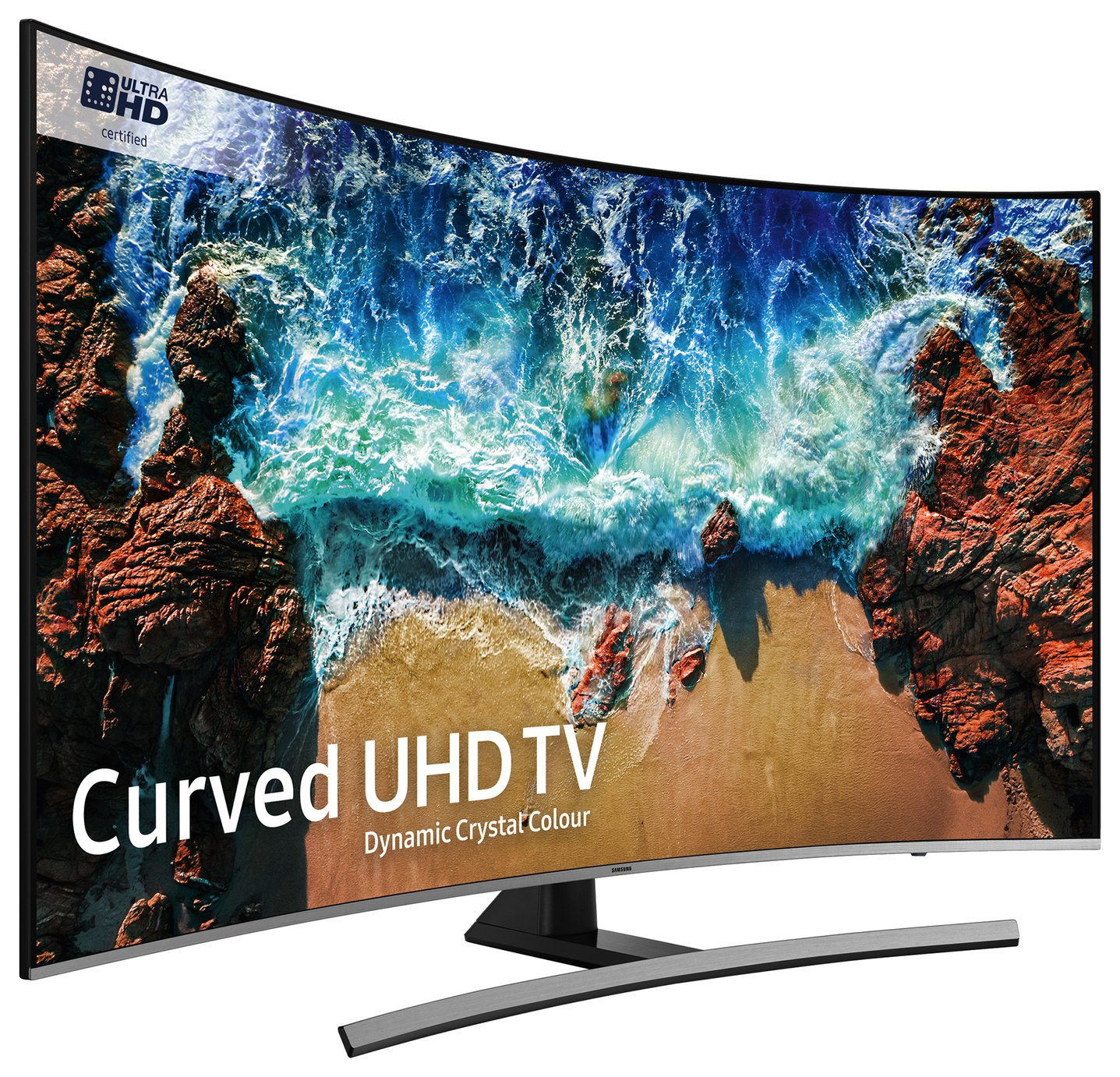 Samsung 55NU8500 55 Inch 4K UHD Curved Smart TV with HDR