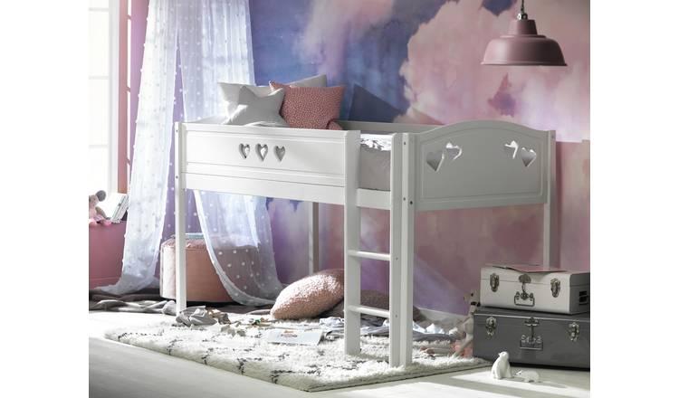 Buy Argos Home Mia Mid Sleeper and Silentnight Mattress ...
