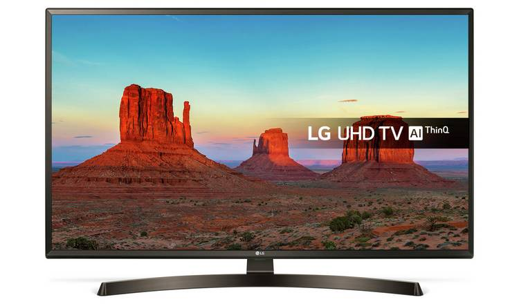 Buy LG 43 Inch 43UK6400PLF Smart Ultra HD 4K TV with HDR | Televisions |  Argos